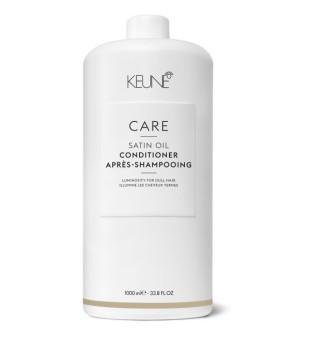 Keune Care Line SATIN OIL Kondicionierius sausiems, pažeistiems plaukams, 1000 ml | inbeauty.lt