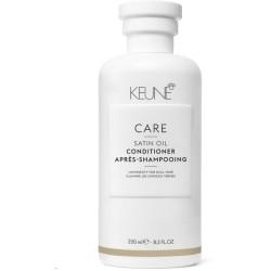 Care Line SATIN OIL Kondicionierius sausiems, pažeistiems plaukams, 250 ml