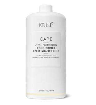 Keune Care Line VITAL NUTRITION Kondicionierius sausiems, pažeistiems plaukams, 1000 ml  | inbeauty.lt