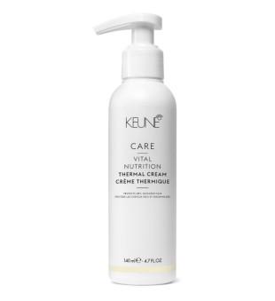 Keune Care Line VITAL NUTRITION Kremas, saugantis plaukus nuo karščio, 140 ml | inbeauty.lt