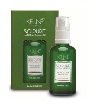 Keune SO PURE Maroko argano aliejus, 45 ml | inbeauty.lt