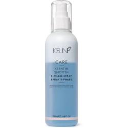 Care Line KERATIN SMOOTH Dvifazis purškiklis plaukams su keratinu, 200 ml
