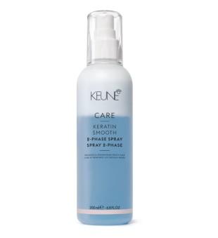 Keune Care Line KERATIN SMOOTH Dvifazis purškiklis plaukams su keratinu, 200 ml | inbeauty.lt