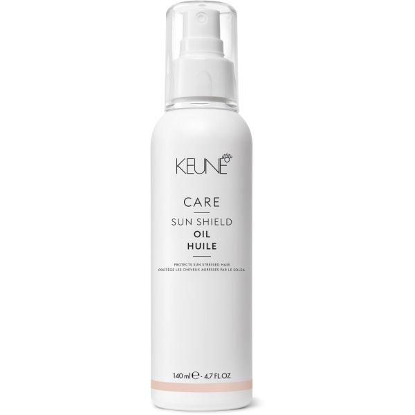 Care Line SUN SHIELD Aliejus plaukams ir kūnui su UV apsauga, 140 ml