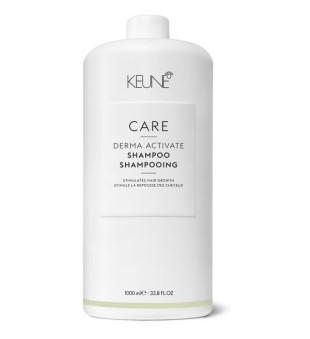 Keune Care Line DERMA ACTIVATE Šampūnas silpniems ir slenkantiems plaukams, 1000ml | inbeauty.lt