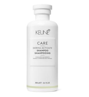Keune Care Line DERMA ACTIVATE Šampūnas silpniems ir slenkantiems plaukams, 300ml | inbeauty.lt
