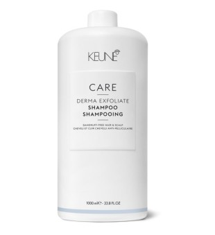 Keune Care Line DERMA EXFOLIATE Šampūnas nuo pleiskanų atsiradimo, 1000ml | inbeauty.lt