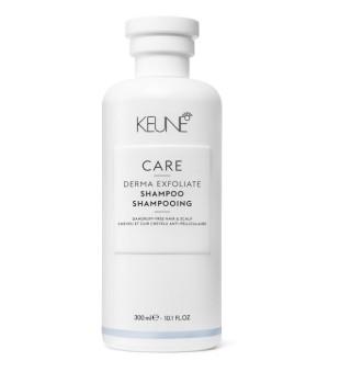 Keune Care Line DERMA EXFOLIATE Šampūnas nuo pleiskanų atsiradimo, 300ml | inbeauty.lt