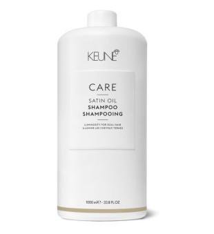 Keune Care Line SATIN OIL Šampūnas sausiems, pažeistiems plaukams, 1000 ml | inbeauty.lt