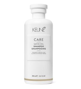 Keune Care Line SATIN OIL Šampūnas sausiems, pažeistiems plaukams, 300 ml | inbeauty.lt