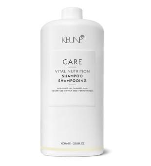 Keune Care Line VITAL NUTRITION Šampūnas sausiems, pažeistiems plaukams, 1000ml | inbeauty.lt