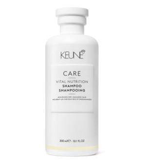 Keune Care Line VITAL NUTRITION Šampūnas sausiems, pažeistiems plaukams, 300 ml | inbeauty.lt