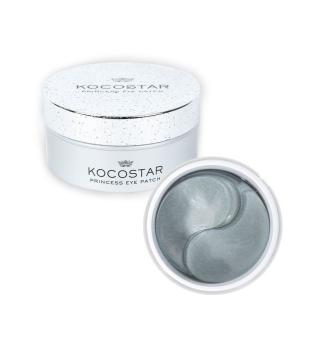 Kocostar Princess Eye Patch (silver) Drėkinamoji paakių kaukė, 30 porų | inbeauty.lt