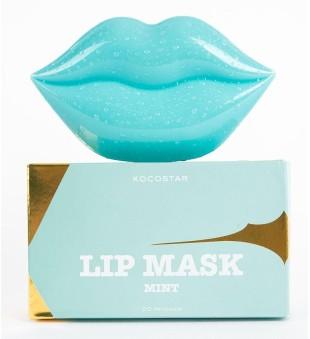 Kocostar Hidrogelio lūpų kaukė - Mint Grape, 20 vnt. | inbeauty.lt
