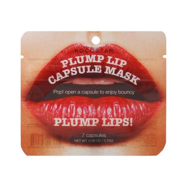 Plump Lip Capsule Mask Lūpas putlinanti kaukė-ampulės, 7×0,15g
