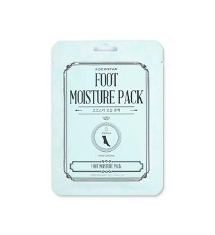 Kocostar Foot Moisture Pack Drėkinanti kojų kaukė, 1 pora | inbeauty.lt
