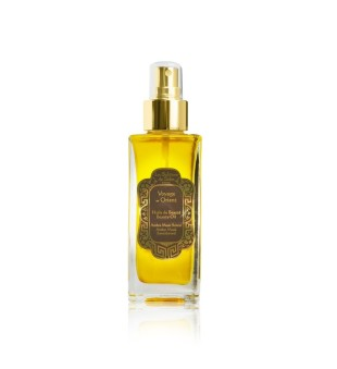 La Sultane de Saba Amber Musk Beauty Oil Gintaro ir santalmedžio aromato kūno aliejus, 100ml | inbeauty.lt