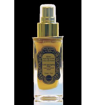 La Sultane de Saba Gold & Champagne Anti-Ageing Elixir Aukso eliksyras veidui, 50ml | inbeauty.lt