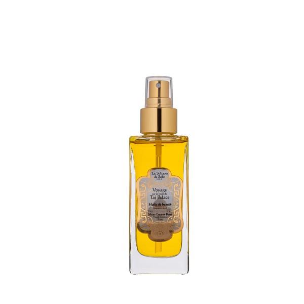 Taj Beauty Oil Rožių, muskuso ir smilkalų aromato grožio aliejus, 100ml