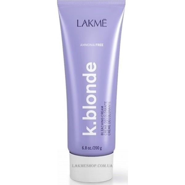 K.blonde Bleaching Cream Plaukų šviesinimo kremas be amoniako, 200g