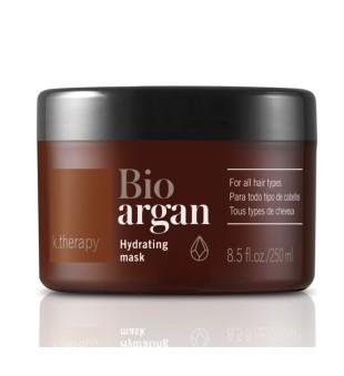 Lakme K.therapy Bio Argan Hydrating Mask Drėkinamoji kaukė plaukams, 250 ml | inbeauty.lt