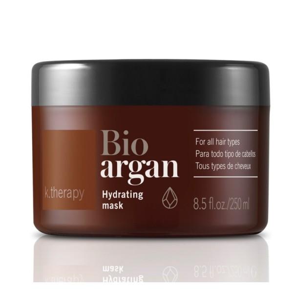 K.therapy Bio Argan Hydrating Mask Drėkinamoji kaukė plaukams, 250 ml
