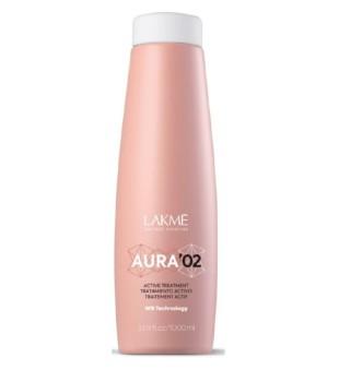 Lakme Aura 02 Active Treatment Priemonė plaukų tiesinimui, 1000ml | inbeauty.lt