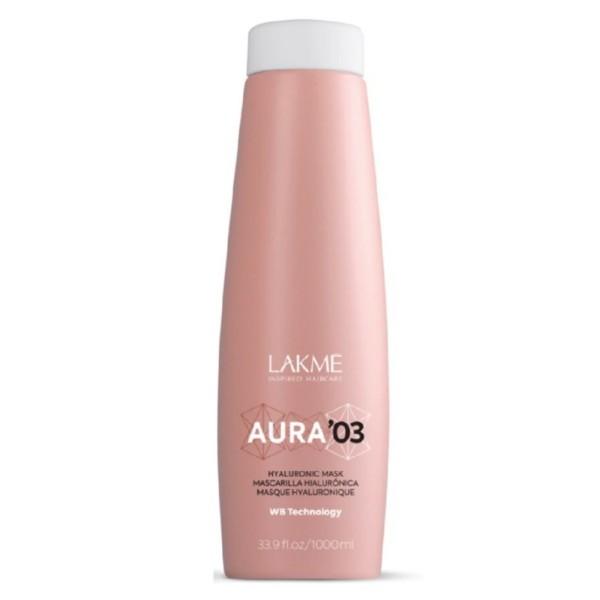 Aura 03 Hyaluronic Mask Intensyviai drėkinanti plaukų kaukė, 1000ml