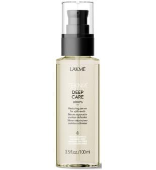 Lakme Teknia Deep Care Drops Atstatomasis serumas plaukams, 100 ml | inbeauty.lt