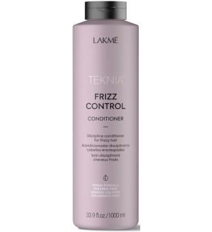 Lakme Teknia Frizz Control Conditioner Nenuplaunamas kondicionierius nepaklusniems plaukams, 1000ml | inbeauty.lt