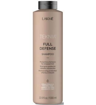 Lakme Teknia Full Defence Shampoo Apsauginis šampūnas, 1000 ml | inbeauty.lt