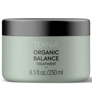 Lakme Teknia Organic Balance Treatment Drėkinamoji plaukų kaukė, 250ml   inbeauty.lt