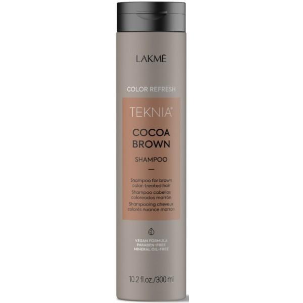 Teknia Cocoa Brown Shampoo Rudą spalvą paryškinantis šampūnas, 300ml