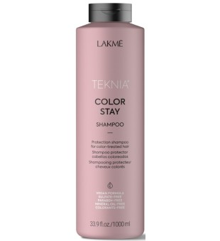Lakme Teknia Color Stay Shampoo Šampūnas dažytiems plaukams be sulfatų, 1000ml | inbeauty.lt