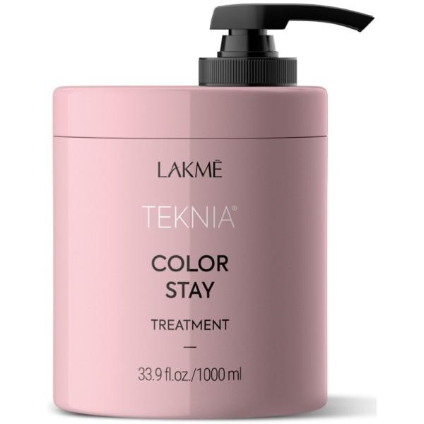 Teknia Color Stay Treatment Kaukė dažytiems plaukams, 1000 ml
