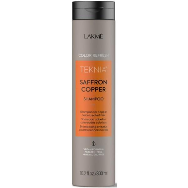 Teknia Saffron Copper Shampoo Šampūnas vario spalva dažytiems plaukams, 300 ml