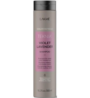 Lakme Teknia Violet Lavender Shampoo Šampūnas violetine spalva dažytiems plaukams, 300ml | inbeauty.lt