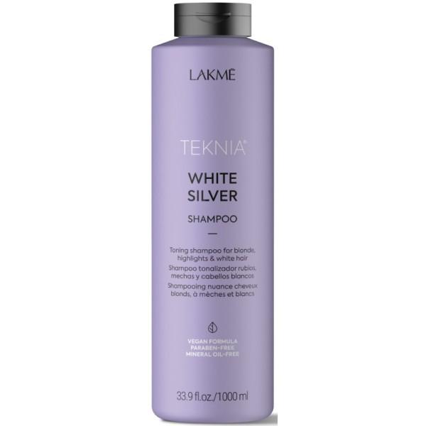 Teknia White Silver Shampoo Geltonus atspalvius neutralizuojantis šampūnas, 1000ml