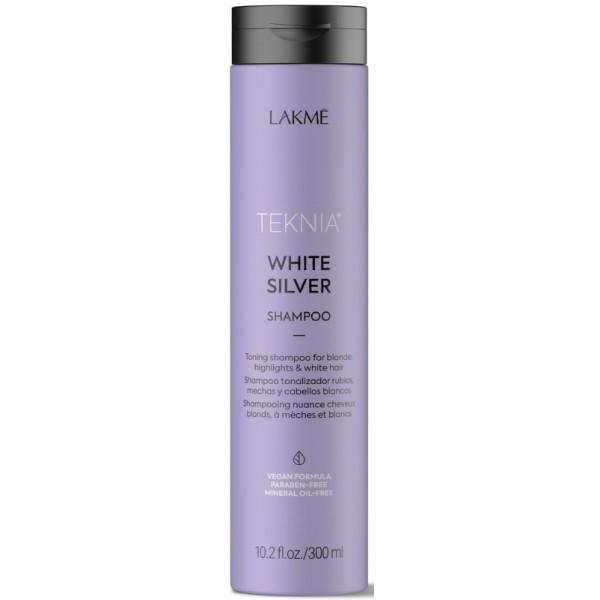 Teknia White Silver Shampoo Geltonus atspalvius neutralizuojantis šampūnas, 300ml