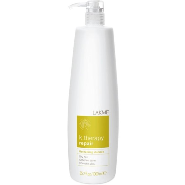 K.therapy Repair Revitalizing Shampoo Atkuriamasis šampūnas, 1000 ml