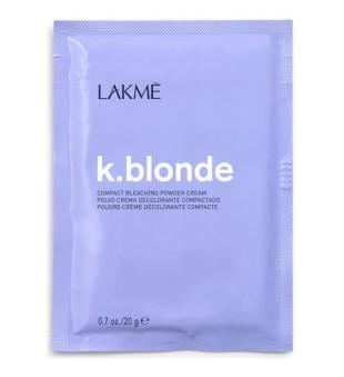 Lakme K.blonde Compact Bleaching Powder-Cream Balinimo milteliai-kremas, 20 g | inbeauty.lt