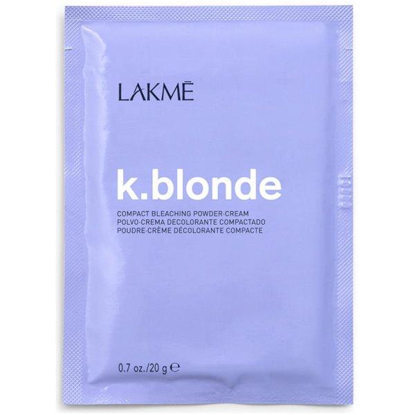 K.blonde Compact Bleaching Powder-Cream Balinimo milteliai-kremas, 20 g