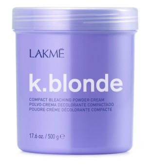 Lakme K.blonde Compact Bleaching Powder-Cream Balinimo milteliai-kremas, 500 g | inbeauty.lt