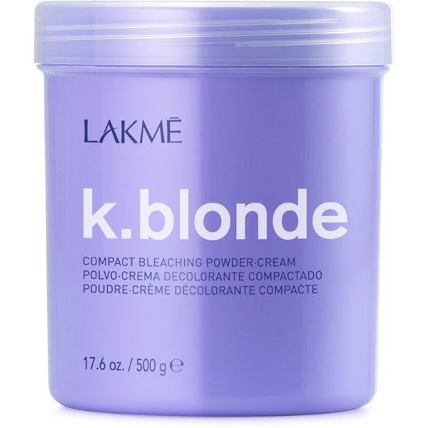 K.blonde Compact Bleaching Powder-Cream Balinimo milteliai-kremas, 500 g