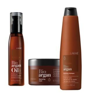 Lakme K.therapy Bio Argan Plaukų priežiūros priemonių rinkinys, 1 vnt. | inbeauty.lt