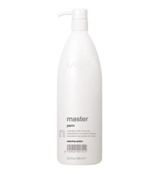 Lakme Master Perm Neutralizer With Fruit Acids Cheminio garbanojimo fiksažas, 1000 ml | inbeauty.lt