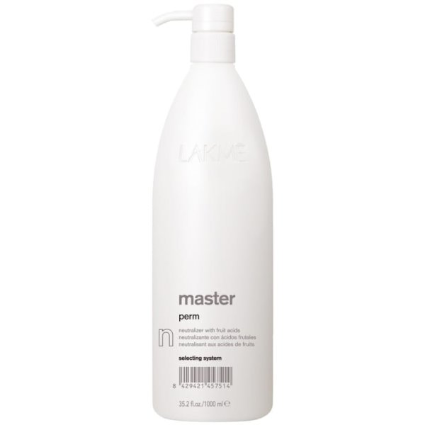 Master Perm Neutralizer With Fruit Acids Cheminio garbanojimo fiksažas, 1000 ml