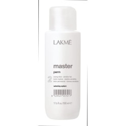 Cheminio garbanojimo  preparatas dažytiems plaukams MASTER perm (2), 500 ml.