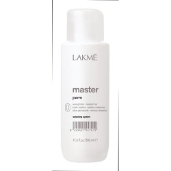 Master Perm 0 Waving Lotion Cheminio garbanojimo preparatas storiems plaukams, 500 ml