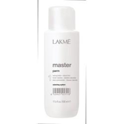 Cheminio garbanojimo  preparatas natūraliems plaukams MASTER perm (1), 500 ml.